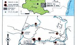 Les moulins à Jais ou Jayet, une industrie méridionale disparue dans la vallée de l'Hers (Ariège et Aude)