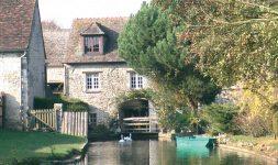2005 : Evénement francilien, Le moulin de Toussac a retrouvé sa roue et ses mécanismes de meunerie