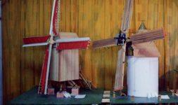 Les maquettistes de moulins : La Hollande dans l'Aude