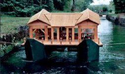 Les maquettistes de moulins : Le Moulin flottant de Revere