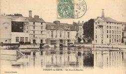 Les grands moulins de Nogent-sur-Seine (Aube)