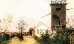 Le moulin Trouillet à Sannois (Val d'Oise)