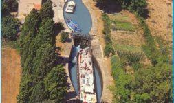 Des moulins sur le Canal du midi