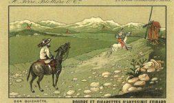 Don Quichotte et les moulins
