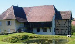 Le Moulin de Courtelevant ou Moulin Marion (Territoire de Belfort)