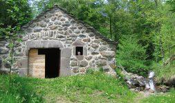 Restauration du moulin de Drils (Cantal)