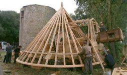 Le moulin de la Providence se refait une beauté – Le Croisic (Loire Atlantique)