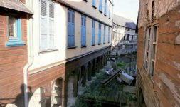 Les Moulins Passe-Avant et Passe-Arrière à Amiens (Somme)
