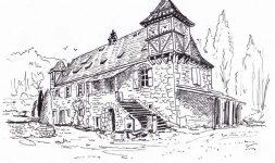Moulins du Périgord. Du château aux moulins