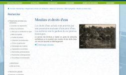Moulins et droits d'eau dans la Creuse