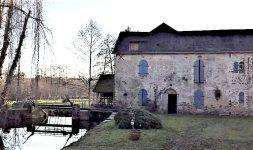 Le Moulin de Graslon à Chammes (Mayenne)