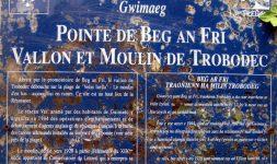 Le Moulin de Trobodec et la Stèle de la Pointe de Beg-an-Fri – Guimaëc (Côtes-d'Armor)