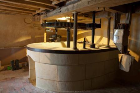 meunerie - puits de fosse - moulin boisard - 2011