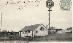 Une éolienne Bollée à Sens (Yonne) – Sauvetage et installation dans le Parc du Moulin à Tan