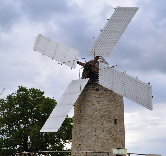 Moulin de la Garenne à Pannecé (Loire-Atlantique) cliché E. Charpentier.