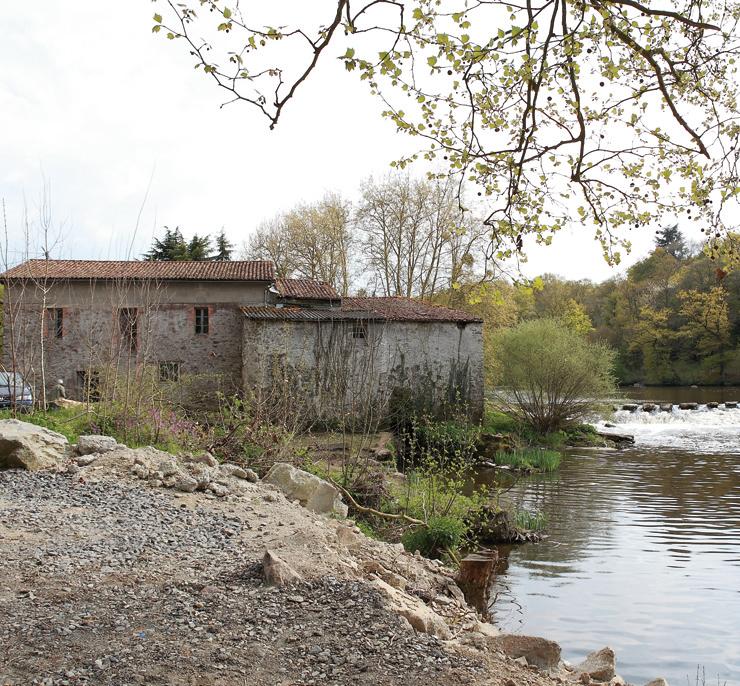 Moulin de Gervaux - cliché R. Valais.