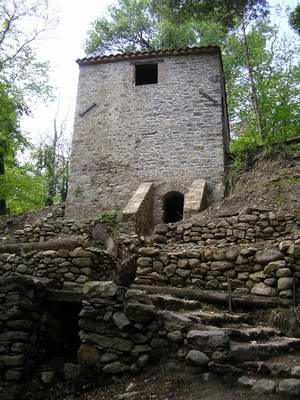 Moulin de la Pave et le rech del molins