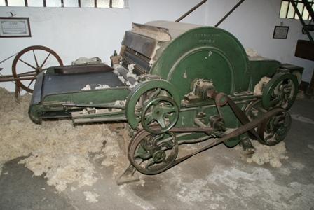 Filature de laine, musée et magazin