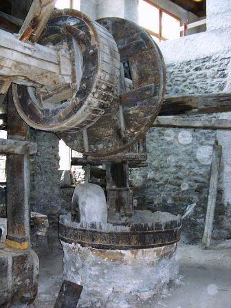 Moulin à huile d'Aigueblanche