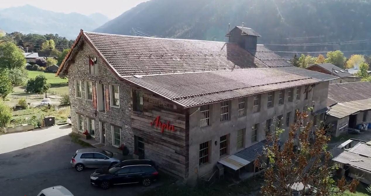 Vue d'ici : La filature Arpin - Youtube