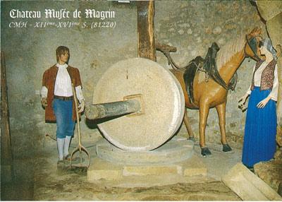 Le château de Magrin, musée du pastel
