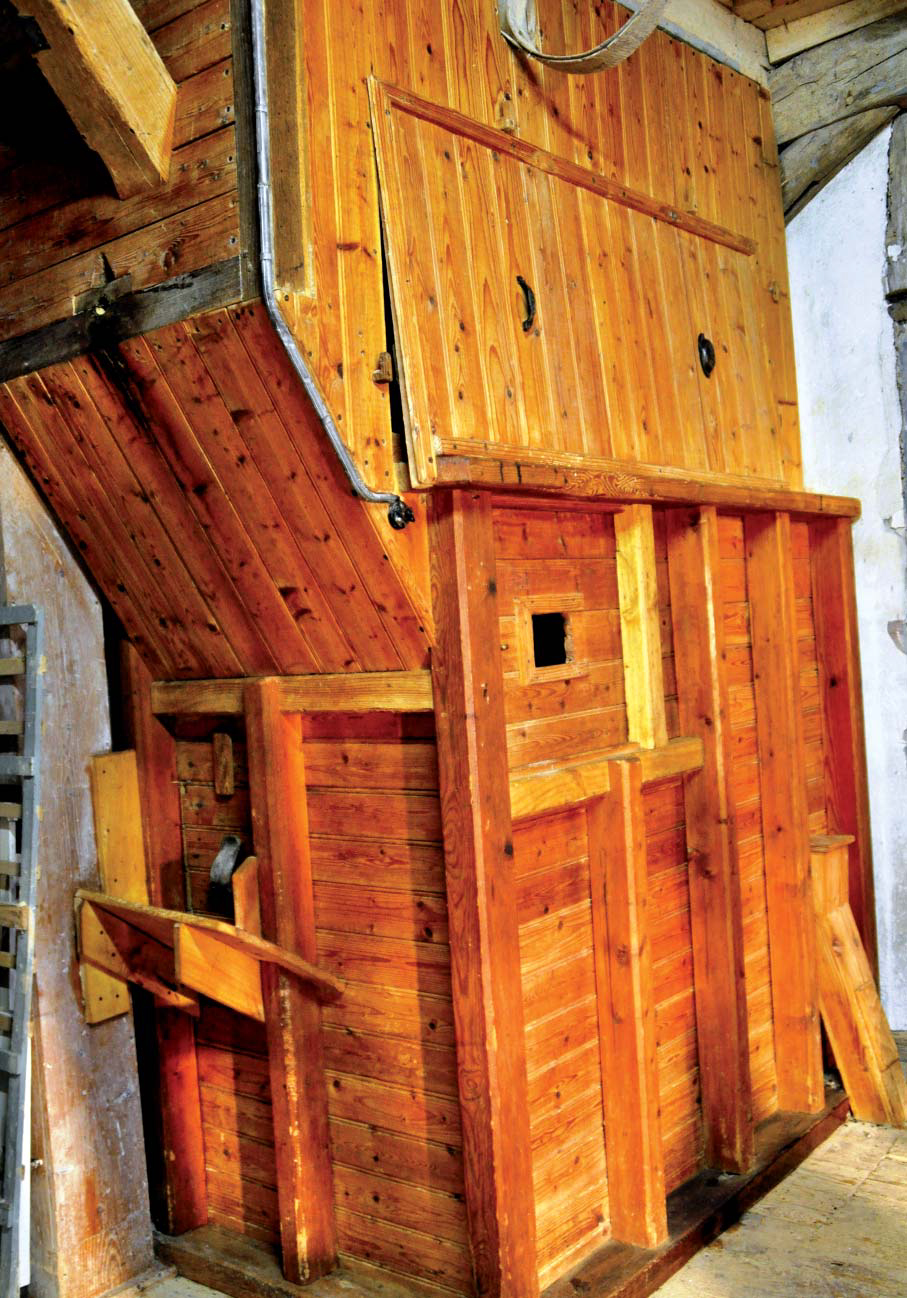 Moulin du Breuil - Chambre à farine. Photo Monique Yot