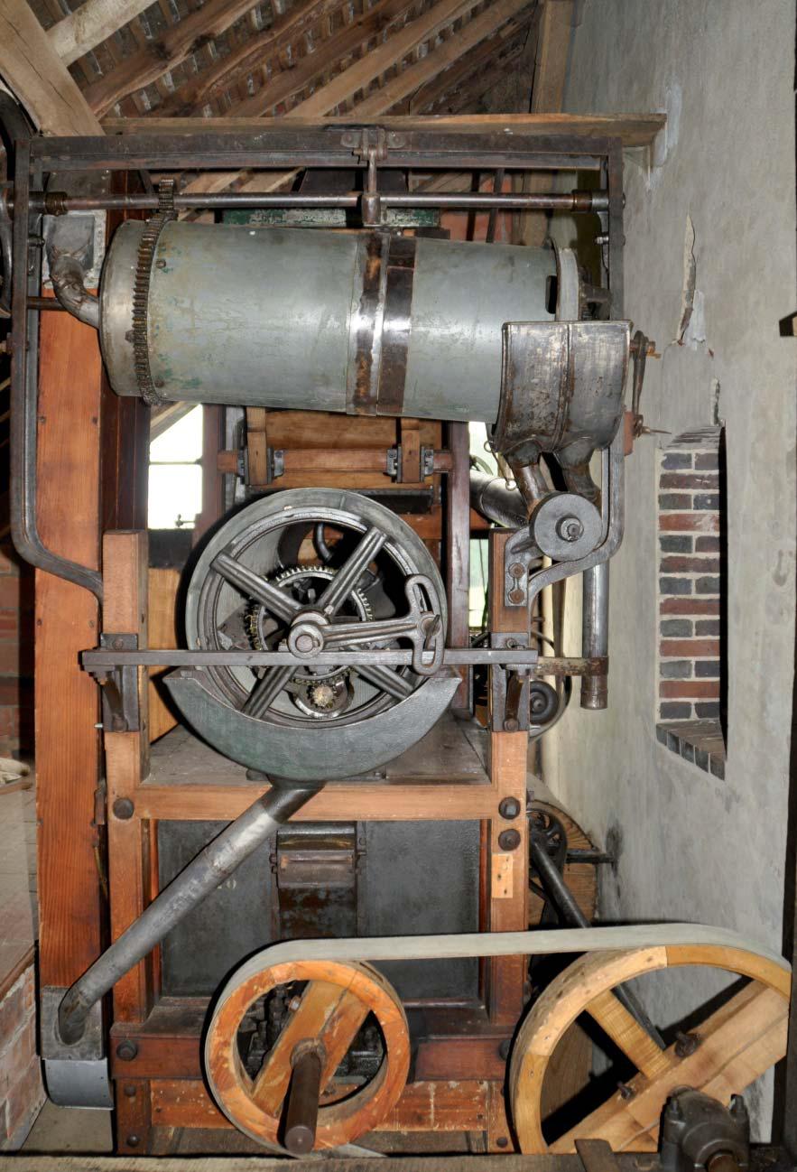 Moulin du Breuil - Trieur à grains. Photo Monique Yot.