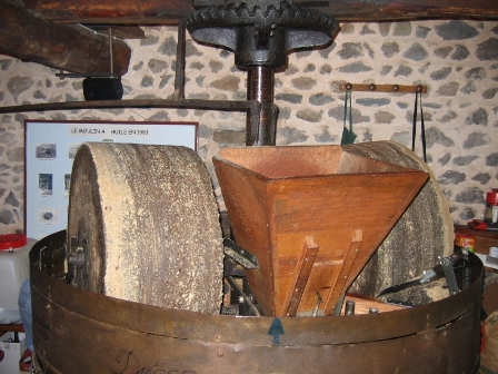 Moulin du Bédat, huilerie