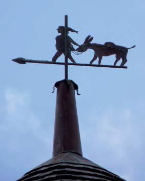 La girouette - Photo M. Lajoie-Mazenc