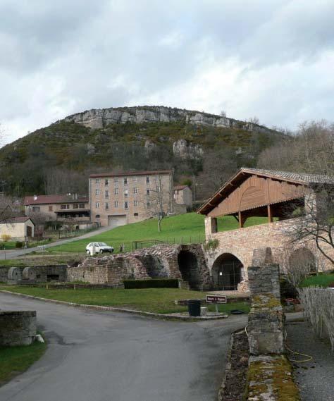 Site de la plâtrière de Berzé-la-Ville. Photo DR.