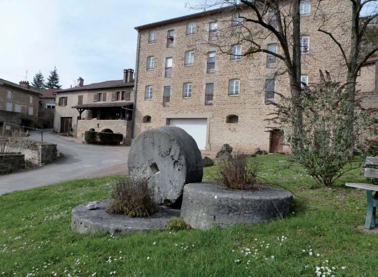 Site de la plâtrière de Berzé-la-Ville. Photos DR.