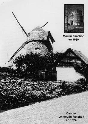 Le moulin Fanchon de Candas - photo P.Desbureaux