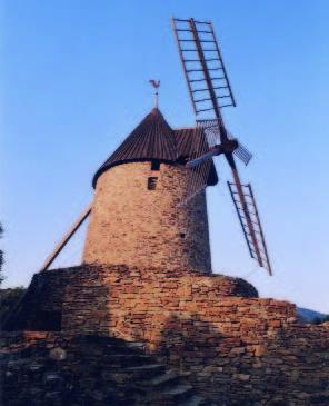 Vue du moulin de Collioure - photo G.Biotteau