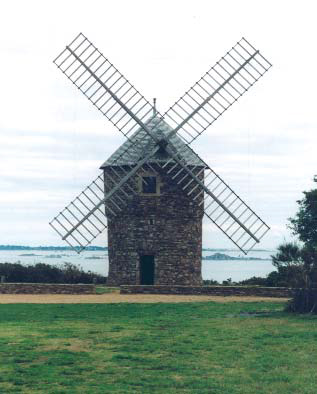 Moulin de Craca - photo S.Mary