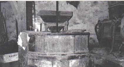 Figure 4 - Arescle à colonnettes. Photo E. Lauga (vers 1960)