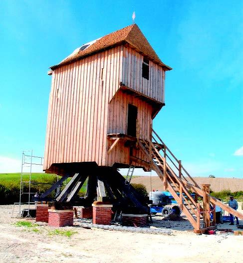 Moulin à pivot de Dosches