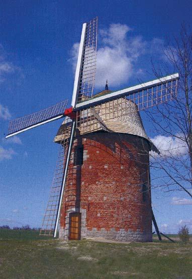 Le moulin de Candas - photo P.Desbureaux