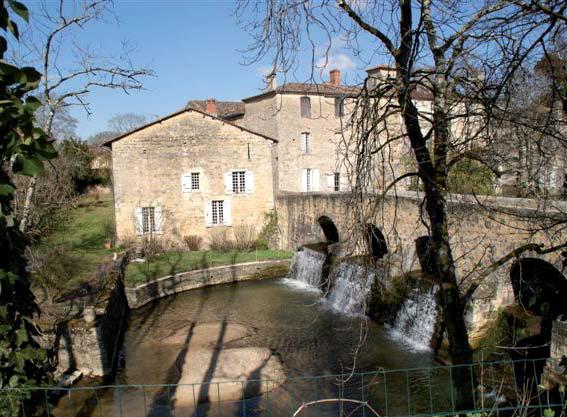 Moulin de Pondaurat - Photo E. Charpentier.