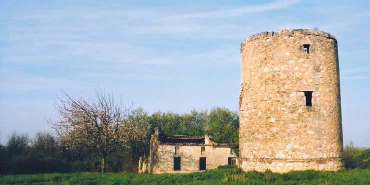 moulin du Grand Puy à Lansac en Gironde - photo Eric Charpentier