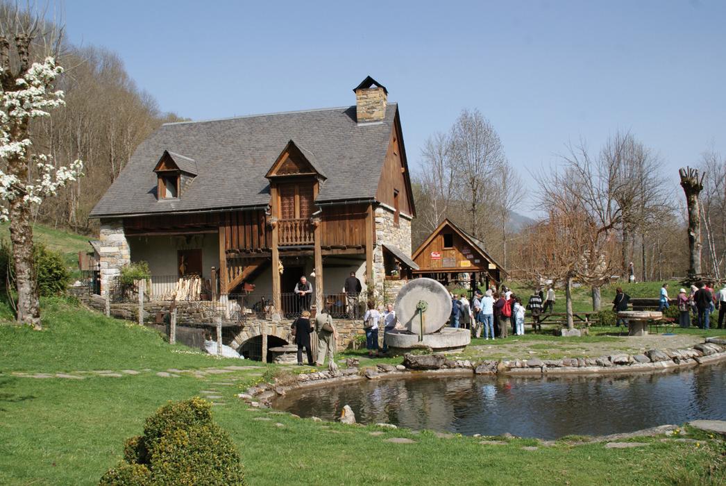 Le moulin-musée de Saoussas à Loudenvieille