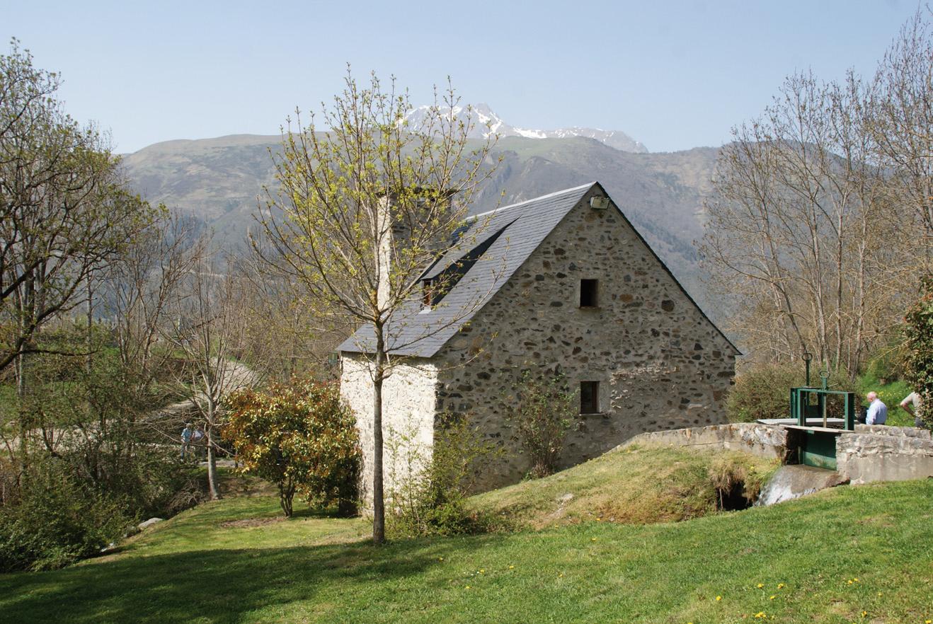 Le moulin de la Mousquère à Sailhan