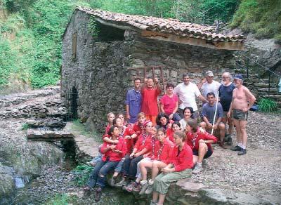 Moulin de La Laurède. Photo J.P. Denier