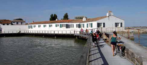 Moulin à marée de Loix.