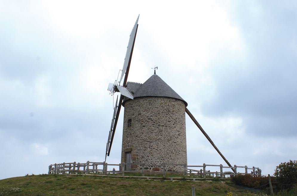 Moulin de Moidrey - Fonds FDMF.