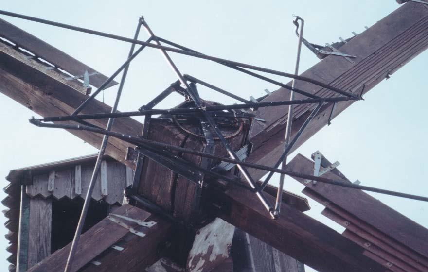 L'araignée du système Berton - photo Ph. Bellan