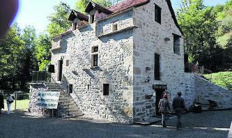 Moulin de Castel - Une restauration entamée en 1993. Photo La Dépêche du Midi