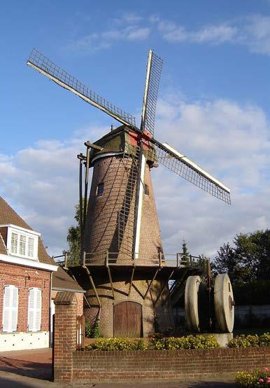 Moulin Hollebeke - Crédit : Par User:LimoWreck - Travail personnel, CC BY-SA 3.0, wiquipédia