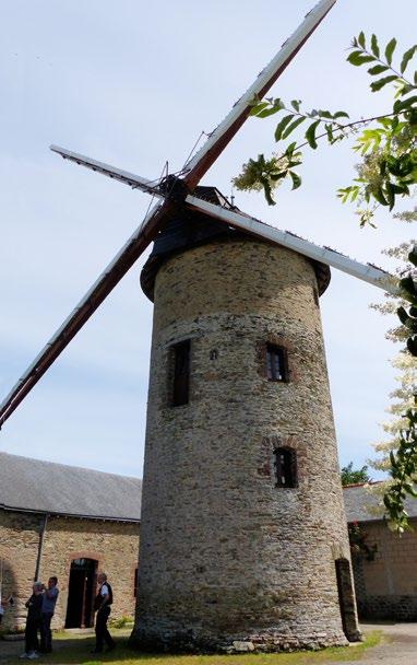 Moulin des Gués. Cliché Michel Lajoie-Mazenc