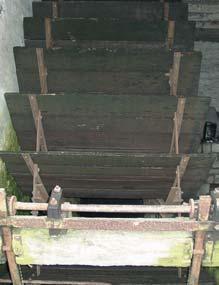 la roue du moulin - cliché de la Maison de la Meunerie