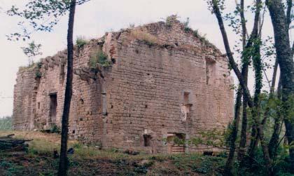 Moulin de Piis avant rénovation - photo D.R.